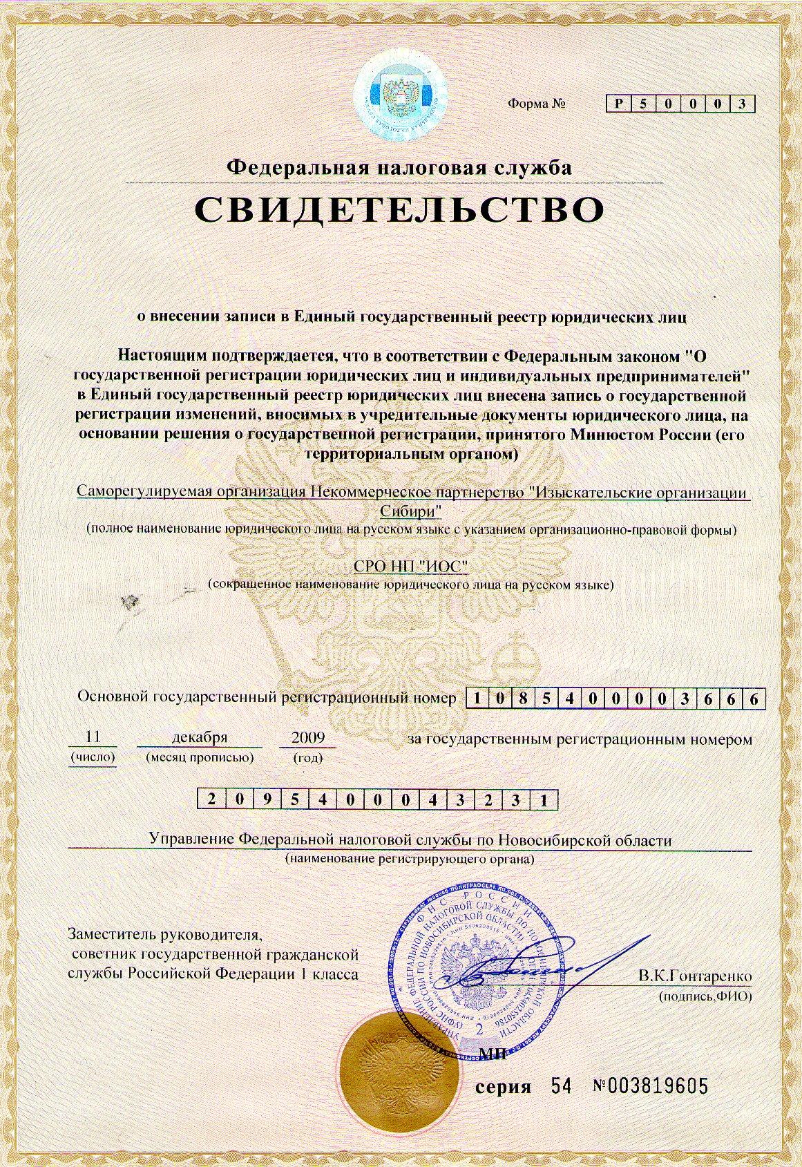 Егрюл реестр юридических лиц
